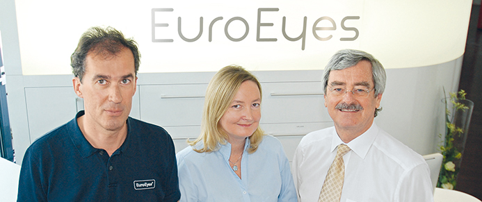 Dr. med. Markus Bauer, Dr. med. Barbara Lege, Prof. Dr. med. Thomas Neuhann, EuroEyes München